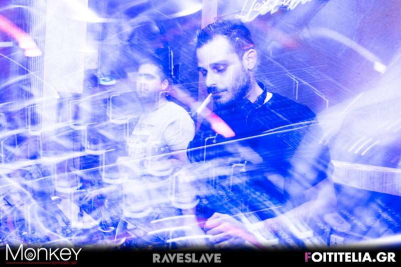 Nino Santos & Lightem (Lightem dj set) (Raveslave) @ Monkey Espresso Bar