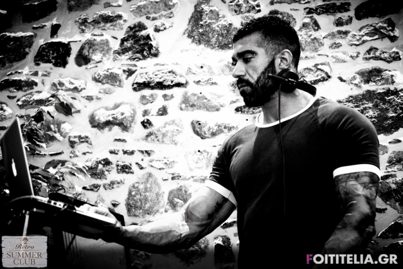 Dj Minas Kontos (Athens) @ Retro Summer Club