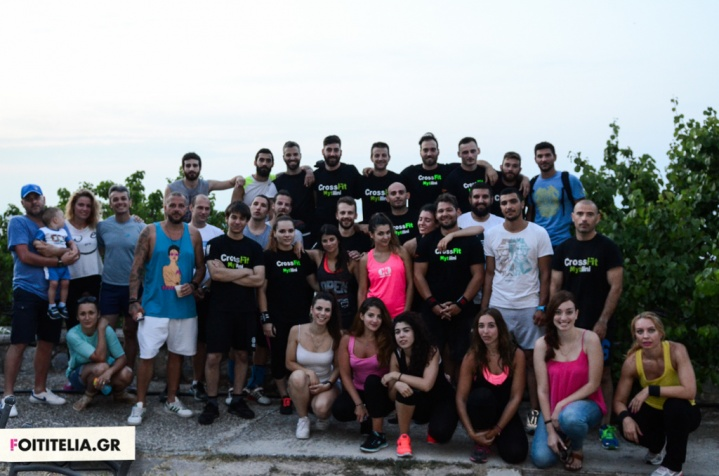 CrossFit Mytilini BBQ party and mini Games